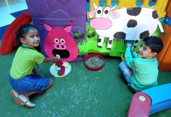 Impact of Play way and Montessori method